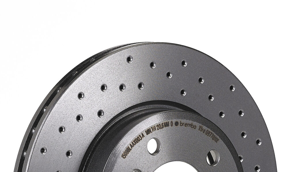Drilled Brake Rotors – A Simple and Elegant Solution