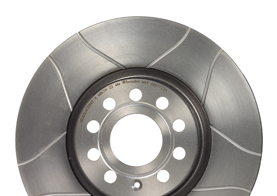 Slotted Brake Discs – The High-Performance Solution
