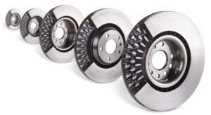 Brembo ventilated pillar rotors